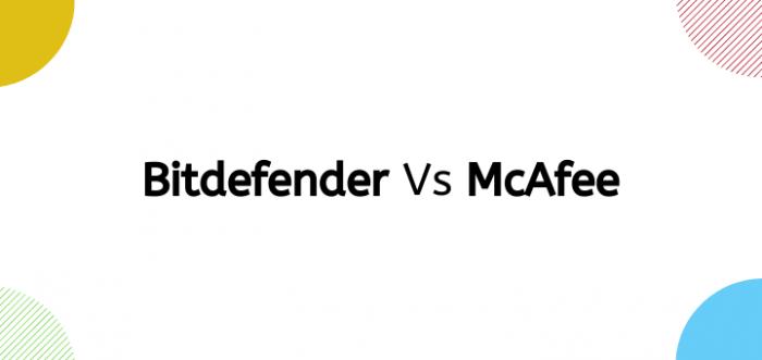 Bitdefender vs Mcafee