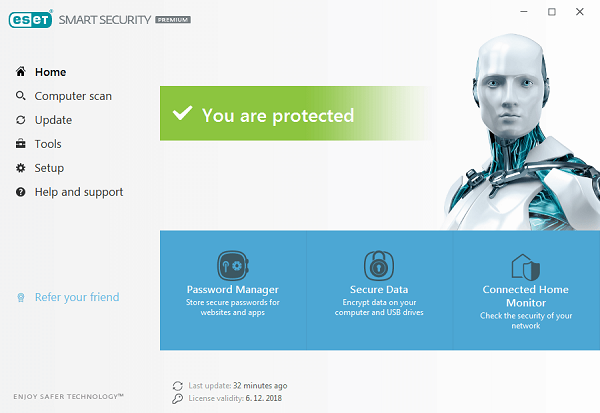 ESET-User-Interface