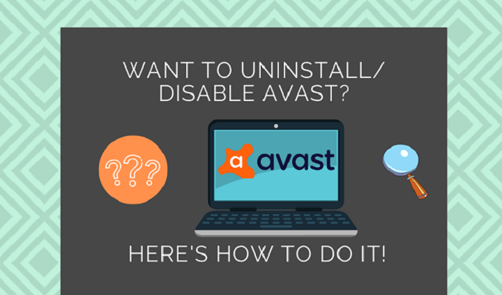 how to disable avast 1