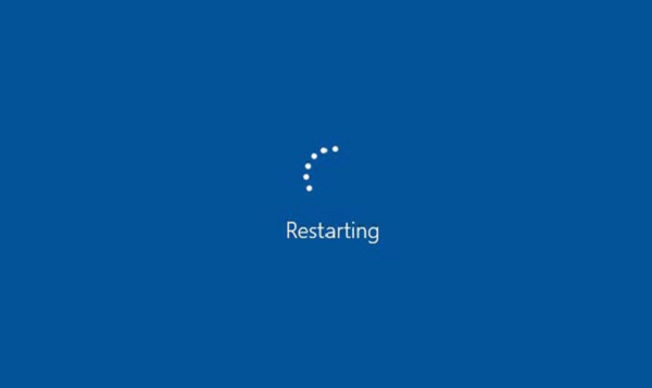 restart pc to apply changes