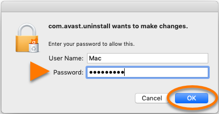uninstall admin credentials