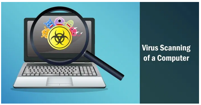 virus scanning of pc