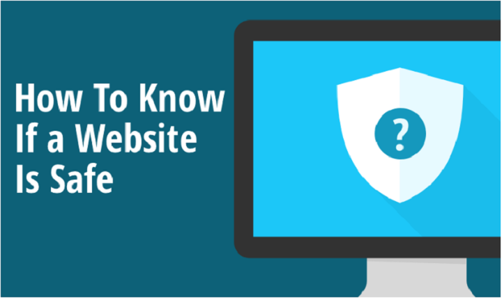 how to know if a website is safe