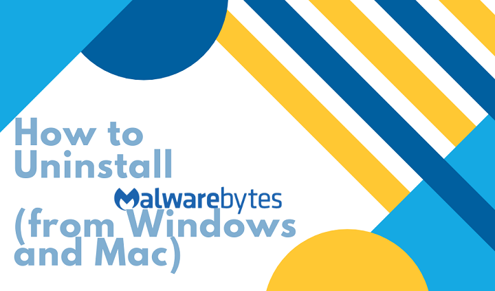 steps to uninstall malwarebytes 1